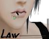 Law #Lips Piercing R