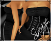 !S! Corset Dress Black