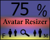 Any Avatar Size,75%