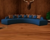 Blue Curve Couch