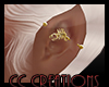 BC|SCORPIO EARBAR GOLD