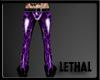 [LS] Leopard pvc purple.