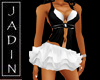 JAD Mini Frills Dress BW