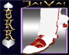 White/Red Custom Shoes2