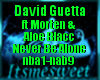 David G - Never Be Alone