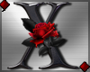 Rose Letter X