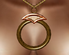 [AA] amber gem chain