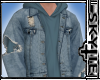 Ripped Jacket (Blue