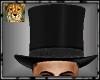 PdT Black Silk Top Hat