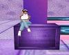 Purple Block Seat