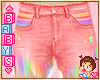 !✿ Pink Rainbow Shorts
