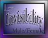 Invisibility Male&Female