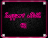 *SVG* 5k Support Sticker