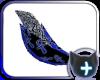Floofy Blue Ankh Tail