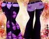 Purple Butterfly Chaps