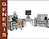 N Ebony Clinic Chairs