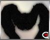 *SC-Black Fur Stole