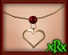 Heart Necklace July
