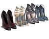 4 Pair Closet Heels 2