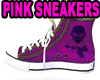 Pink Punk Boot Sneakers
