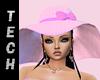 Pink Bonnet Hat