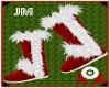 ~JM~Furry X-Mas Boots