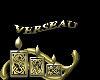 sticker verseau gold