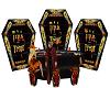 Halloween Coffin Bar