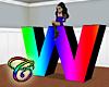 Rainbow W Animated
