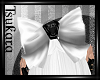 |T| RIP Dolly Bow- White