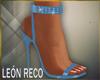 c Light Blue Shoes