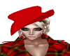 Red Hat.Sultry Blonde