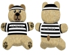 Looh Bear Prison Stripes