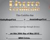 divorced certificate