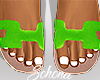 ṩOran Sandals Neon