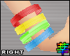 :S Arm Bands Rainbow R.