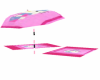hellokitty umbrella+towe