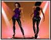 Yolonda outfit purple sk