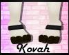 -k- Black Paw Cuffs