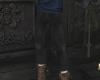 Merlin black pants