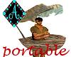 Ama{Marooned boat