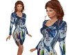TF* Abstract Bluzy Dress