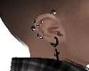 Pvc cross right ear