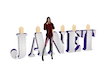 Janet Candle