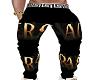 Versace Black LBL Sweats