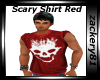 Scary Shirt Red
