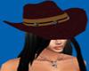 Dk Brown Western Cowgirl