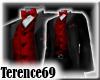 69 Tuxedo B- Red