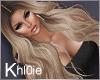 K  lex med blonde hair