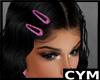 Cym Pink Hair Clips